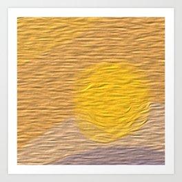 Blazing Bright Sunlight Art Print