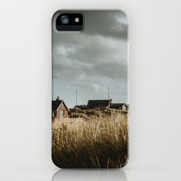 Summer houses of Romo Island iPhone Case