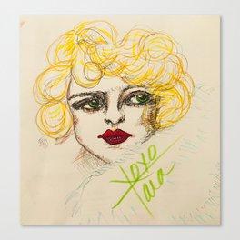 Ziegfeld girl Canvas Print