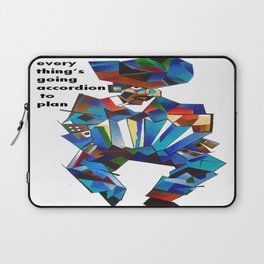 Everything's Going Accordion To Plan Laptop Sleeve