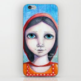 Little Red by Kylie Fowler iPhone Skin