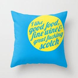 I Like .... Throw Pillow