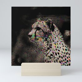 Abstract Animal - Cheetah Mini Art Print