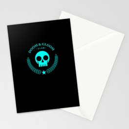 Doom & Gloom Club Stationery Cards