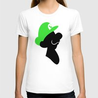 luigi T-shirts featuring Luigi Bros by Bonitismo