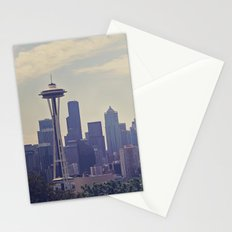 Seattle Skyline Stationery Cards