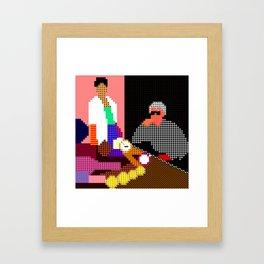 image - hot stuff Framed Art Print