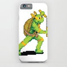 Pixelated Teenage Mutant Ninja Turtles (TMNT) - Michaelangelo iPhone 6s Slim Case