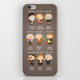 science iPhone Skin
