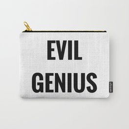 Evil Genius Carry-All Pouch