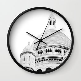 Sacre Coeur - Paris, France Wall Clock
