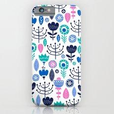 Flourish (Blues) Slim Case iPhone 6s