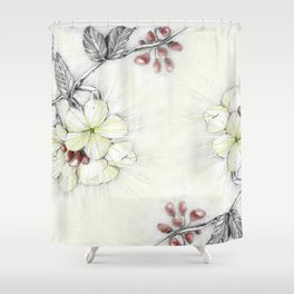 Pequi Flower Shower Curtain