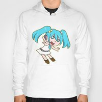 vocaloid Hoodies featuring Miku Miku by tees4weebs