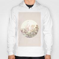 magnolia Hoodies featuring Magnolia by Roman Bratschi