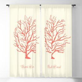 AFE Branch Coral, Living Coral Blackout Curtain
