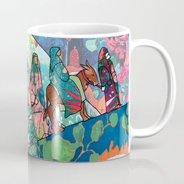 Floral Migrant Quilt Coffee Mug