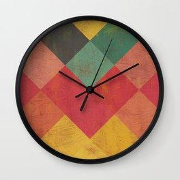 Aztec Vintage Pattern 11 Wall Clock