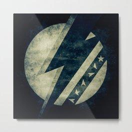 Bowie Dark Stardust Metal Print
