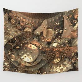 Crash at Roswell Wall Tapestry