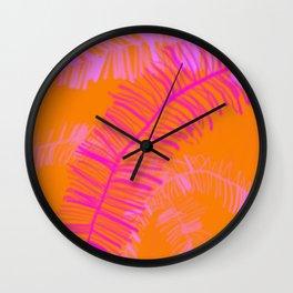 Tropical Palm Dream Wall Clock
