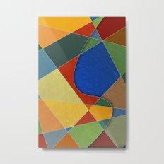 Abstract #329 Metal Print