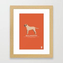 Bullmastiff Framed Art Print
