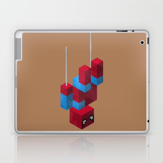Sensational Spider Man Laptop & Ipad Skin by Joshbelden LSK932876