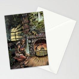 Abuela by Anthony Ojeda Stationery Cards