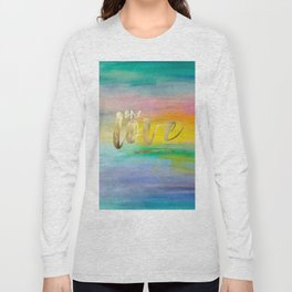 One Love, Ocean Sunrise 2 Long Sleeve T-shirt