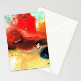 Abstract Art - No Limits - By Sharon Cummings Stationery Cards