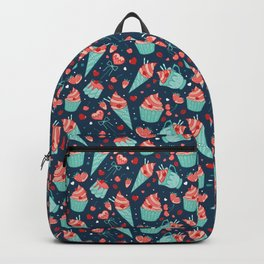 Valentine's sweets - Blue Backpack