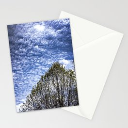 Spring clouds Stationery Cards
