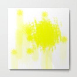 I feel yellow Metal Print
