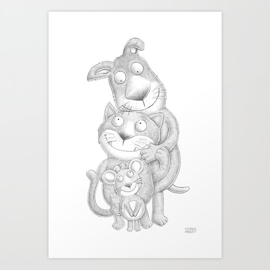 Home Life Art Print