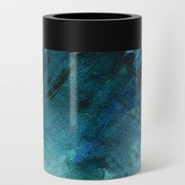 Scenic Route [2]: a pretty, minimal abstract piece in blue and green by Alyssa Hamilton Art Can Cooler