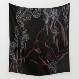 Steaming Kid Buu Wall Tapestry