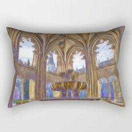Batalha gothic Rectangular Pillow