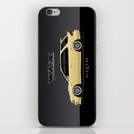 Blaze Yellow GF8 WRX iPhone Skin