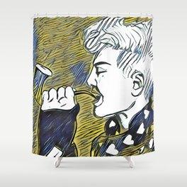 G Dragon Shower Curtain