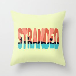 STR\NDED Throw Pillow