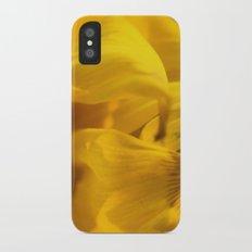 Sunflower Macro 2 iPhone X Slim Case