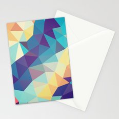 Coral Reef Tris Stationery Cards