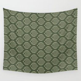 Olive Scales Wall Tapestry