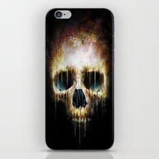 Skull Flame iPhone Skin