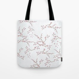 SAKURA LOVE - GRUNGE WHITE Tote Bag