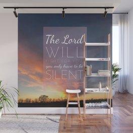 Exodus 14:14 Wall Mural