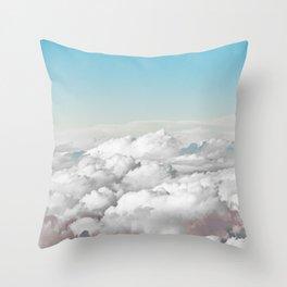 Cotton Sky Throw Pillow