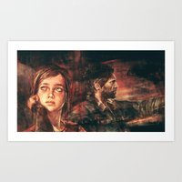 road Art Prints featuring The Road Less Traveled by Alice X. Zhang