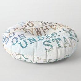 Under the Stars Floor Pillow